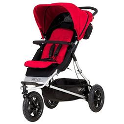 Mountain Buggy +One Stroller with Second Seat & Cocoon, Berr