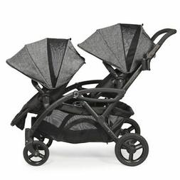 New Contours Options Elite Tandem Stroller in Graphite  New
