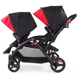 Contours Options Tandem Stroller Double Pram Two Seat Foldin