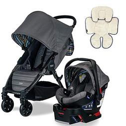 Britax Pathway & B-Safe 35 Travel System, Crew with Support