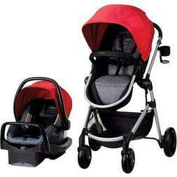 Evenflo Pivot Baby Stroller and Safemax Infant Car Seat Trav