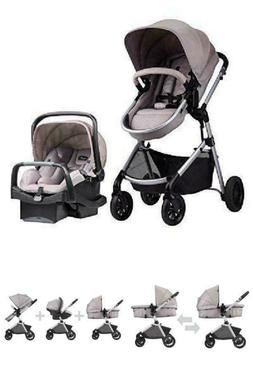 Pivot Modular Baby Travel System Car Seat & Stroller with Sa