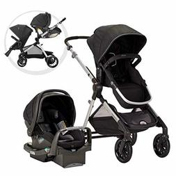 Evenflo Pivot Xpand Modular Travel System, Baby Stroller, Up