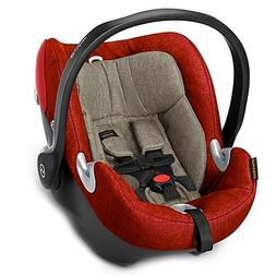 Cybex Platinum Aton Q Plus Infant Car Seat, Autumn Gold
