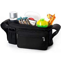 Portable Pram Organiser, Stroller Bag, Pushchair Organizer -