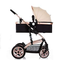 Kids Pram Travel System 3 in 1 Combi Stroller for Infant and