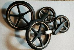 CYBEX PRIAM 3 ROSEGOLD REPLACEMENT WHEELS NEW FREE SHIPPING