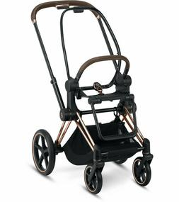 Cybex Priam Frame & Seat ROSE GOLD  FREE SHIPPING/ BRAND N
