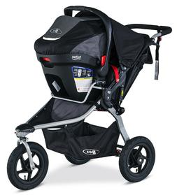 BOB Rambler Travel System, Black baby boy carseat, stroller,