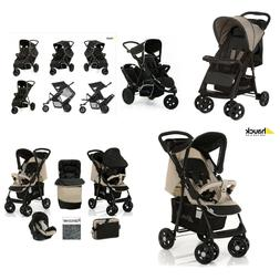 RANGE OF HAUCK STROLLERS FREERIDER SHOPPER TRAVEL SYSTEM 0+