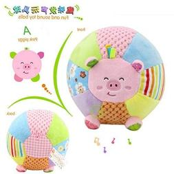 Squeeque Baby Rattles & Mobiles - Fun and Sound Balls Baby R