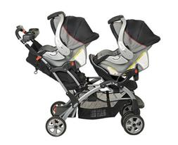Rear-Facing Stroller B-Ready 3-1 Double Strollers 2Seater 2