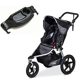 BOB Revolution Flex 2016 Stroller & Snack Tray Bundle