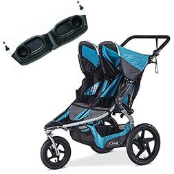 BOB Revolution Flex Duallie Stroller With Snack Tray Bundle