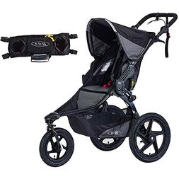 BOB Revolution Pro Jogging Stroller - Black with Handlebar C