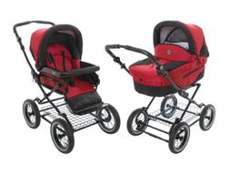 Roan Rocco Classic Pram Stroller 2-in-1 with Bassinet and Se