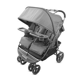 JOOVY Scooter X2 with Tray, Charcoal