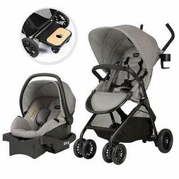 Evenflo Sibby Travel System with LiteMax 35 Infant Car Seat,