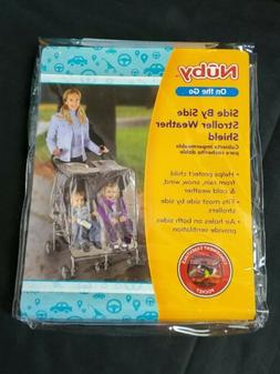 side stroller weather shield