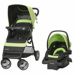 Cosco Simple Fold Travel System with Light 'N Comfy Infant C