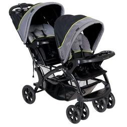 Baby Trend Sit N Stand Double Deluxe Tandem Stroller NEW, BE