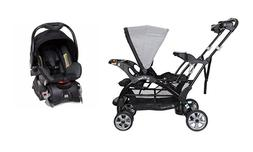 Baby Trend Sit 'N Stand Double Stroller with One Car Seat an