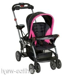 Baby Trend Sit N Stand Ultra Stroller BUBBLE GUM Infant 2 Ch