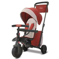 smarTrike Smartfold 600 Folding Baby Tricycle, Red