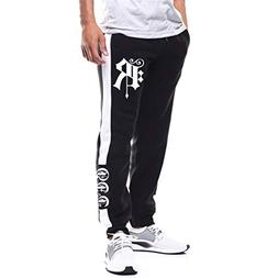 Spring Deals 2019 Joggers for Men Patchwork Casual Drawstrin