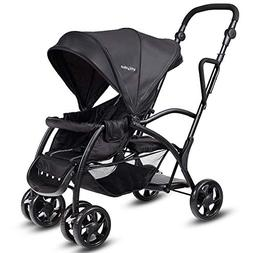 HONEY JOY Stand and Ride Stroller, Stand On Tandem Stroller,