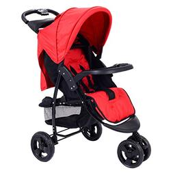 Costzon Infant Stroller 3 Wheel Baby Toddler Pushchair Trave