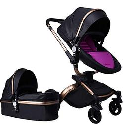 Baby Stroller,Babyfond-Travel Systems Folding Baby Carriage