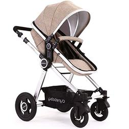 Baby Stroller Bassinet Pram Carriage Stroller - Cynebaby All