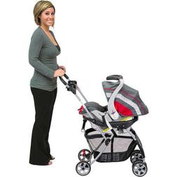 Stroller Car Seat Carrier with Rear Wheel Foldable for Infan