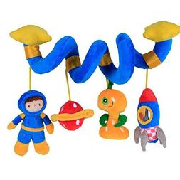 Labebe Car Seat Toy, Hanging Toy for Baby with Blue Astronau