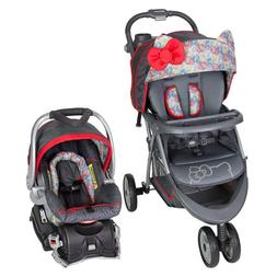 Baby Car Seat And Stroller Infant Girl Travel System Newborn