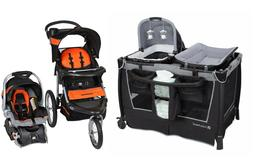 Baby Trend Stroller Jogger with Car Seat Playard Crib Travel