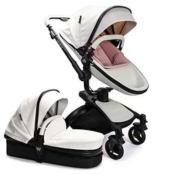 Wonder buggy Baby Stroller Pram, 2 in 1 Travel System Baby C
