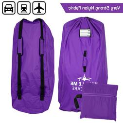 Stroller Travel Bag for Airplane Gate Check in - Large Stand