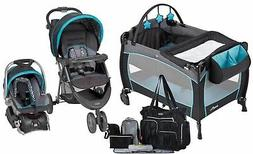 Baby Trend Stroller with Car Seat Travel System Evenflo Play