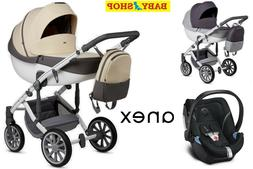 Stylish baby stroller Anex SPORT 2.0 3in1 or 4in1 pushchair