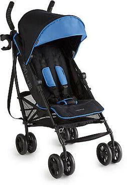 Summer 3Dlite+ Convenience Stroller, Blue/Matte Black ? Ligh