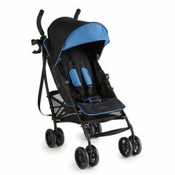 Summer 3Dlite+ Convenience Stroller, Blue/Matte Black – Li