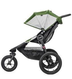 Baby  Jogger Summit X3 Green/Gray Jogger Single Seat Strolle
