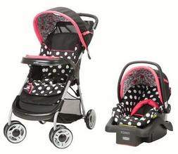 Baby Travel System Lift Stroll Plus Disney Minnie Coral Flow