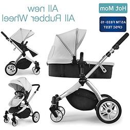 Infant Toddler Baby Stroller Carriage,Hot Mom Stroller 2 in