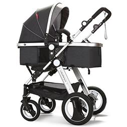 cynebaby Infant Toddler Baby Stroller Carriage Compact Pram