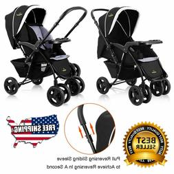 Travel Stroller Two Way Foldable Baby Kids  Newborn Infant P