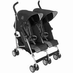 Maclaren Twin Triumph WM1Y120032 Black/Charcoal Baby double
