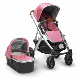 UPPAbaby® VISTA 2017 Stroller with Leather Handles in Sabri